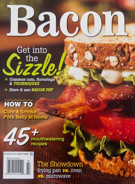 """Bacon"" magazine, interior photos and articles"