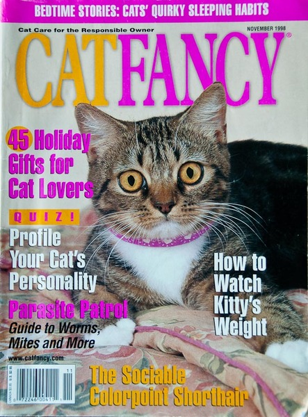 Cover of Cat Fancy Magazine