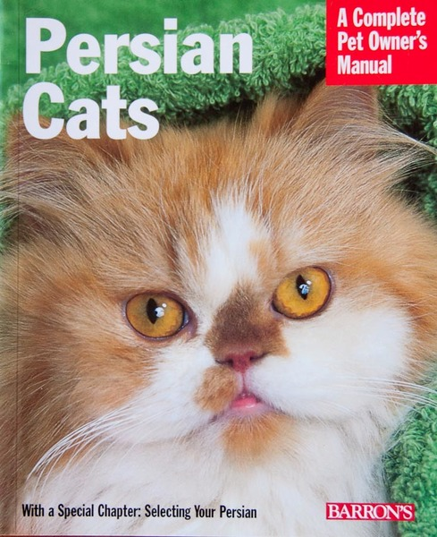 cover of Persian Cats Pet Owner's Manual book.