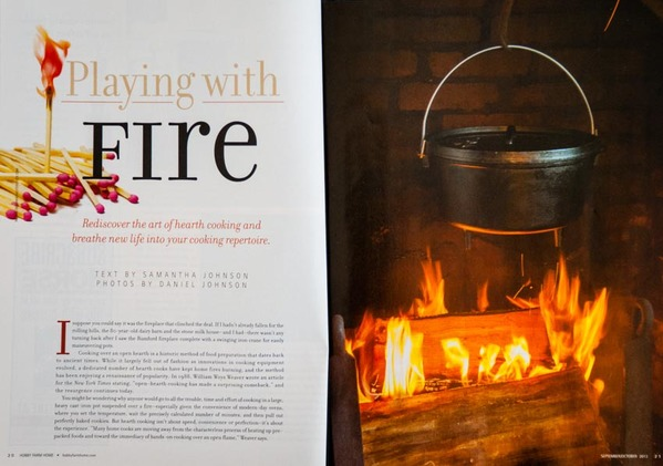 Hobby Farm Home Sept/Oct 2013 - Article and photos